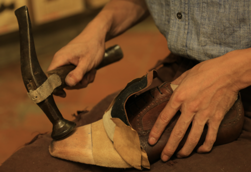 """T6620, 1786 """"Replica"""" leather, S last"""