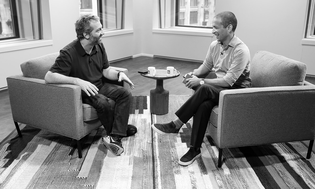 Judd Apatow and Daniel Roth, 2017