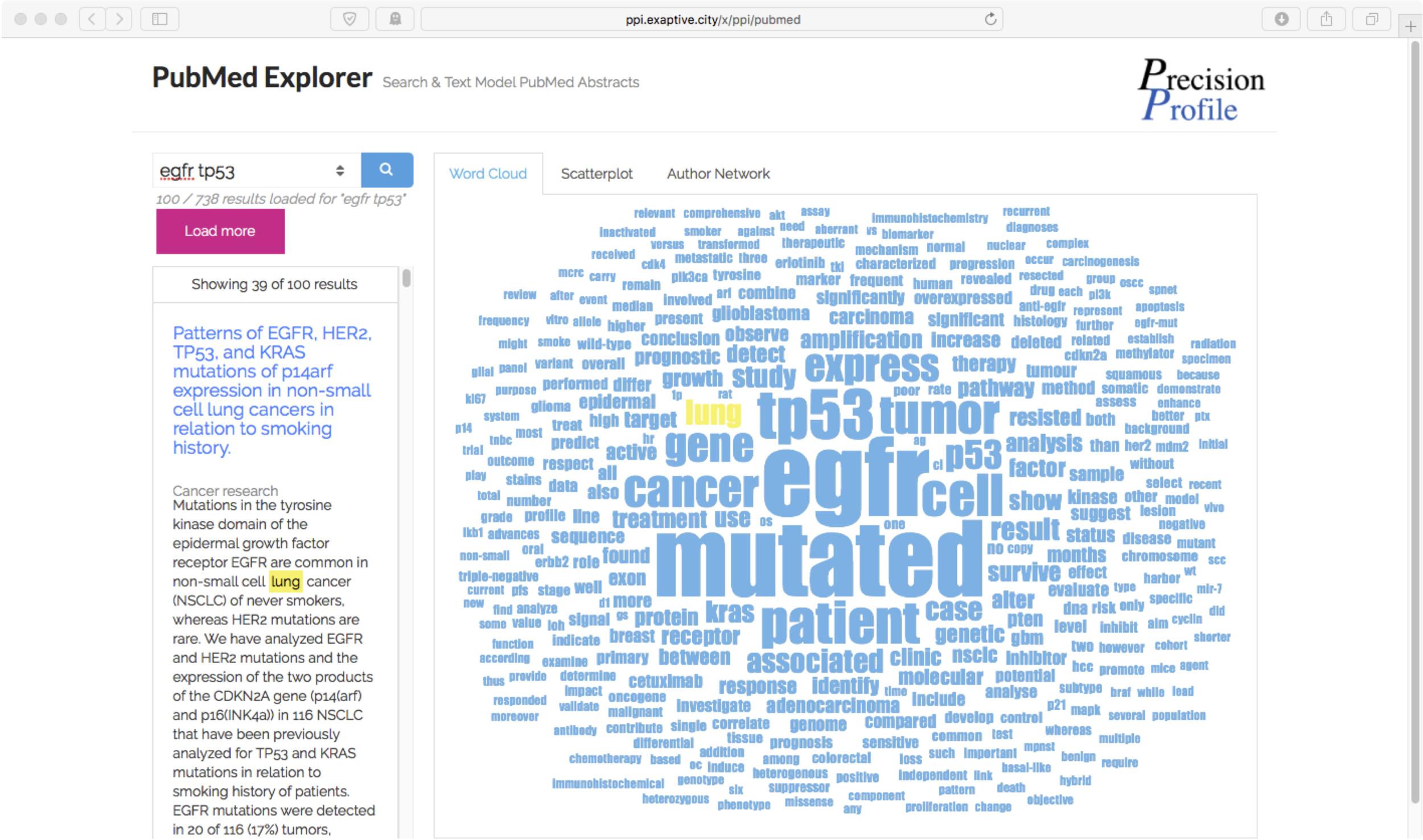 Semantic Exploration of Public Databases