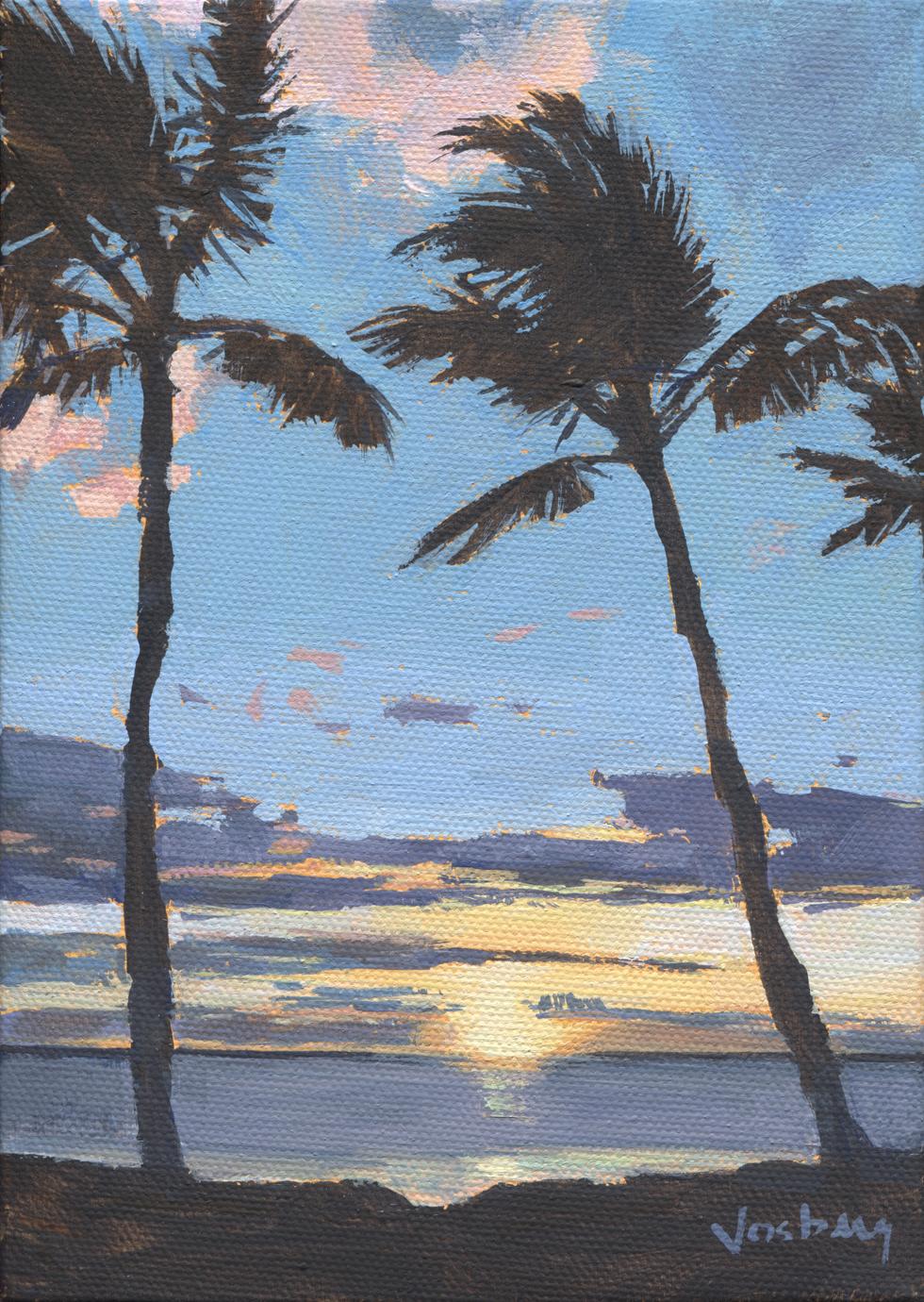 Kama'ole I Sunset, Maui