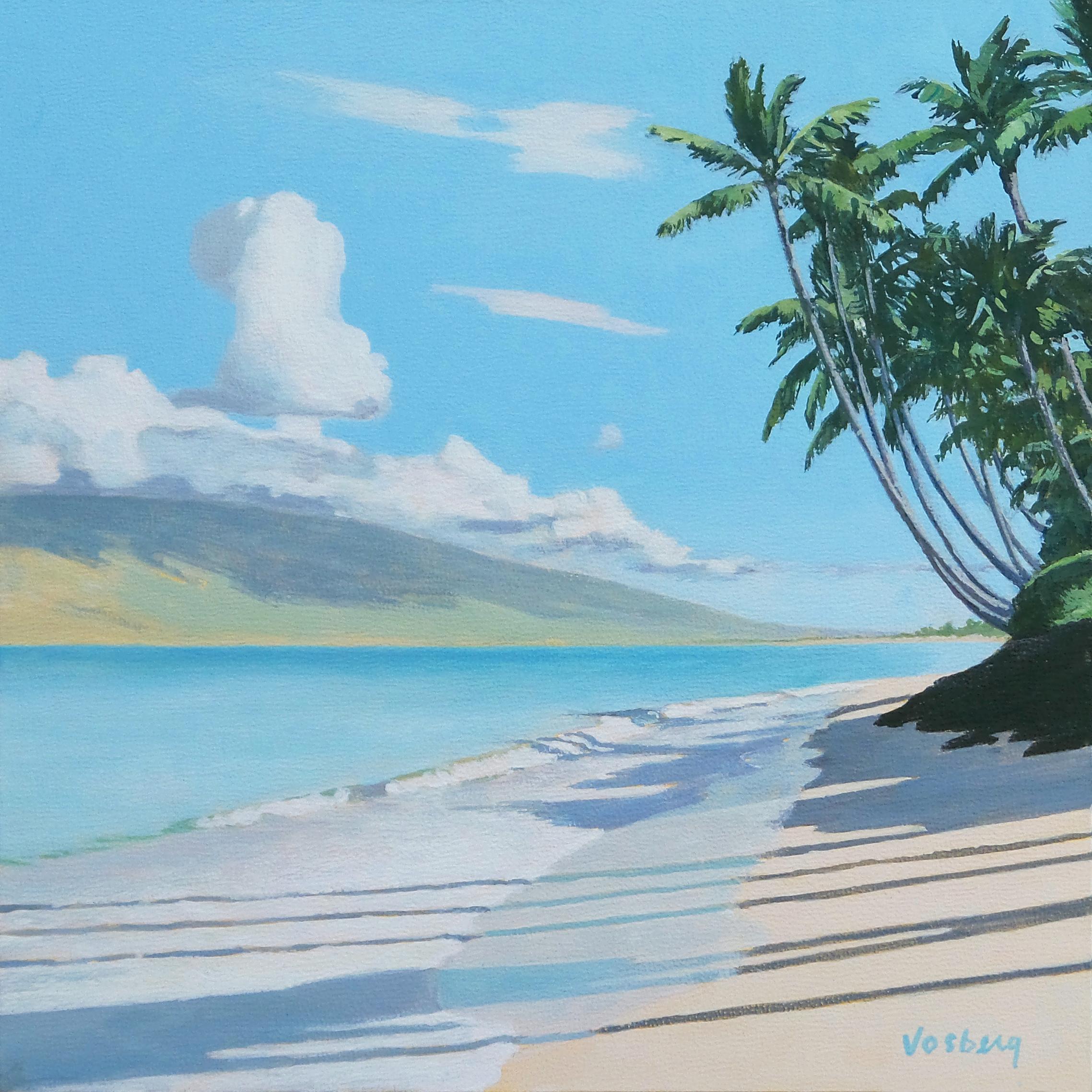 Hot Summer Beach Morning, Maui