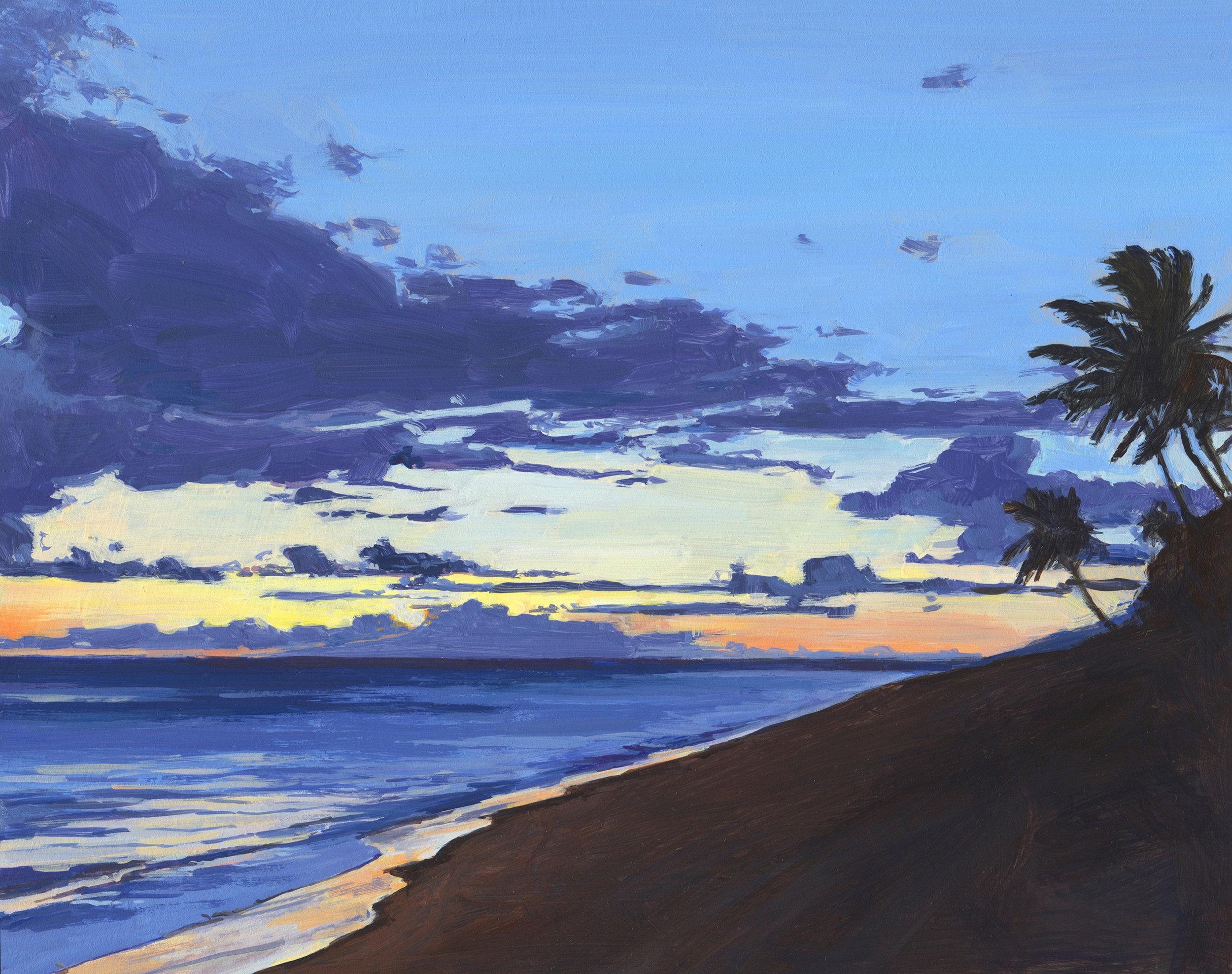 Kalama Park Sunset, Maui