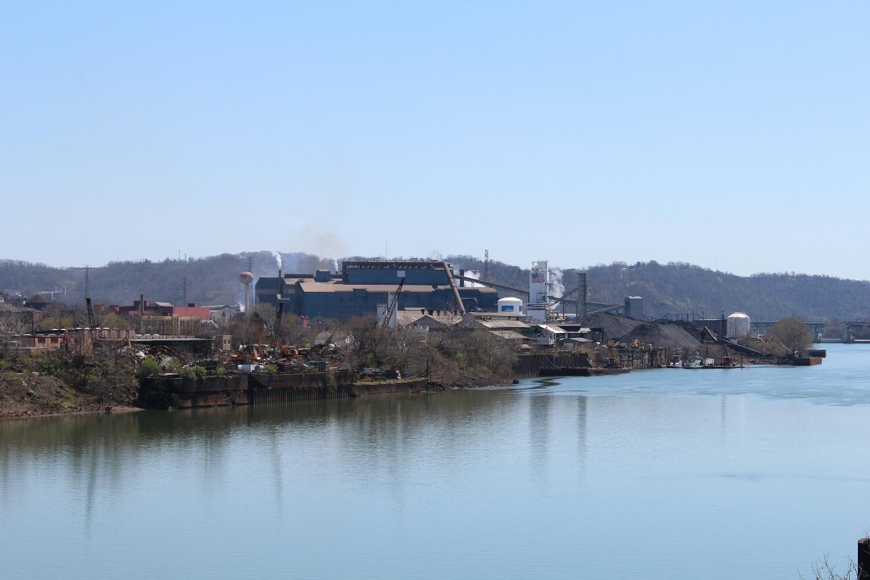 Steel mill in Braddock