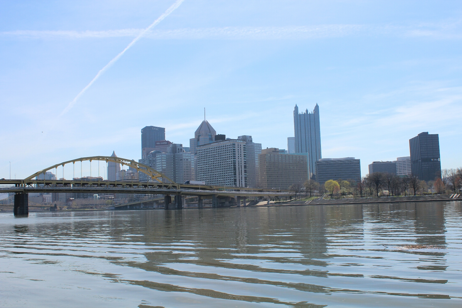 Pittsburgh from the North Shore Trail