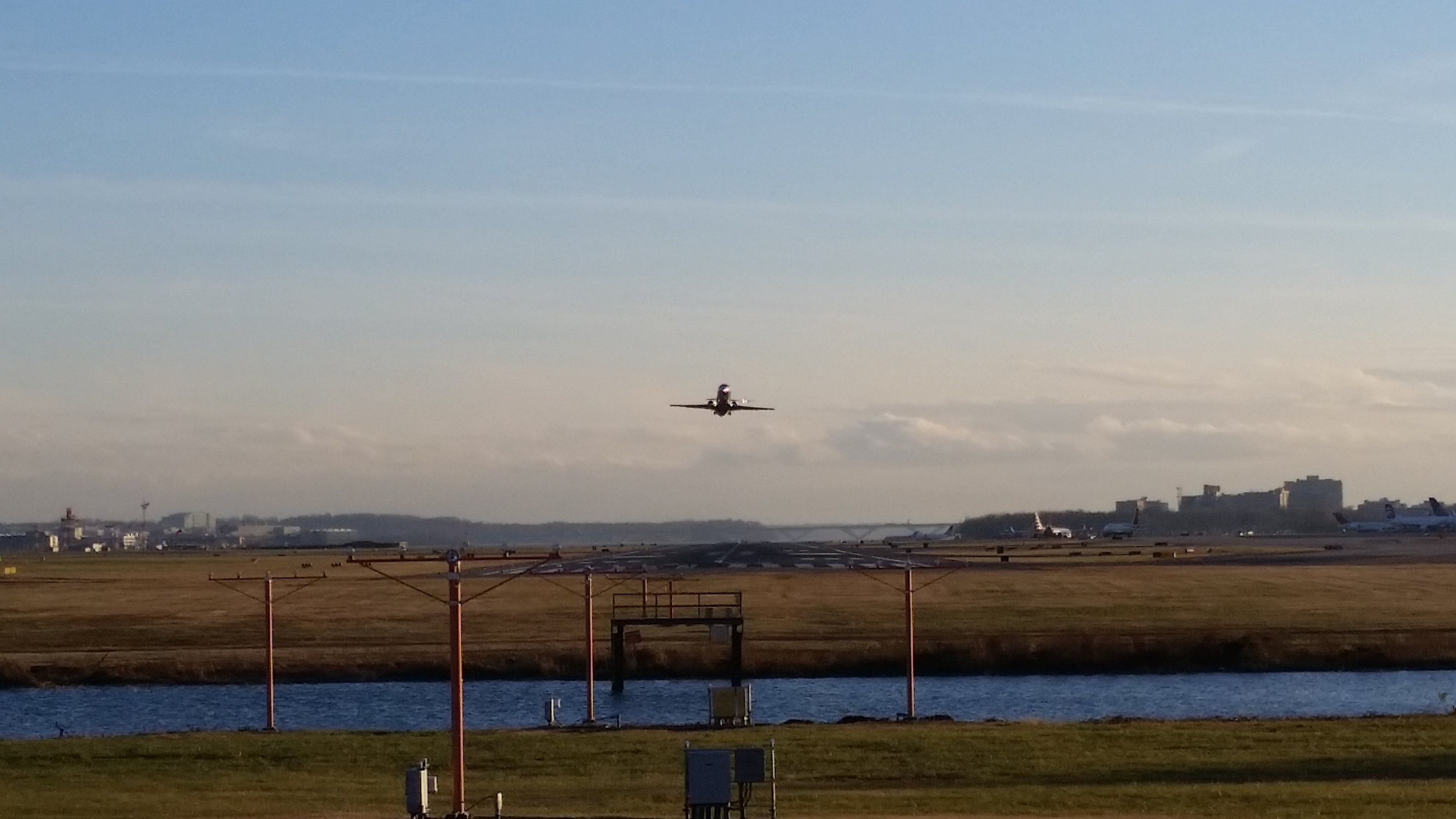 Take-off at Reagen National Airport