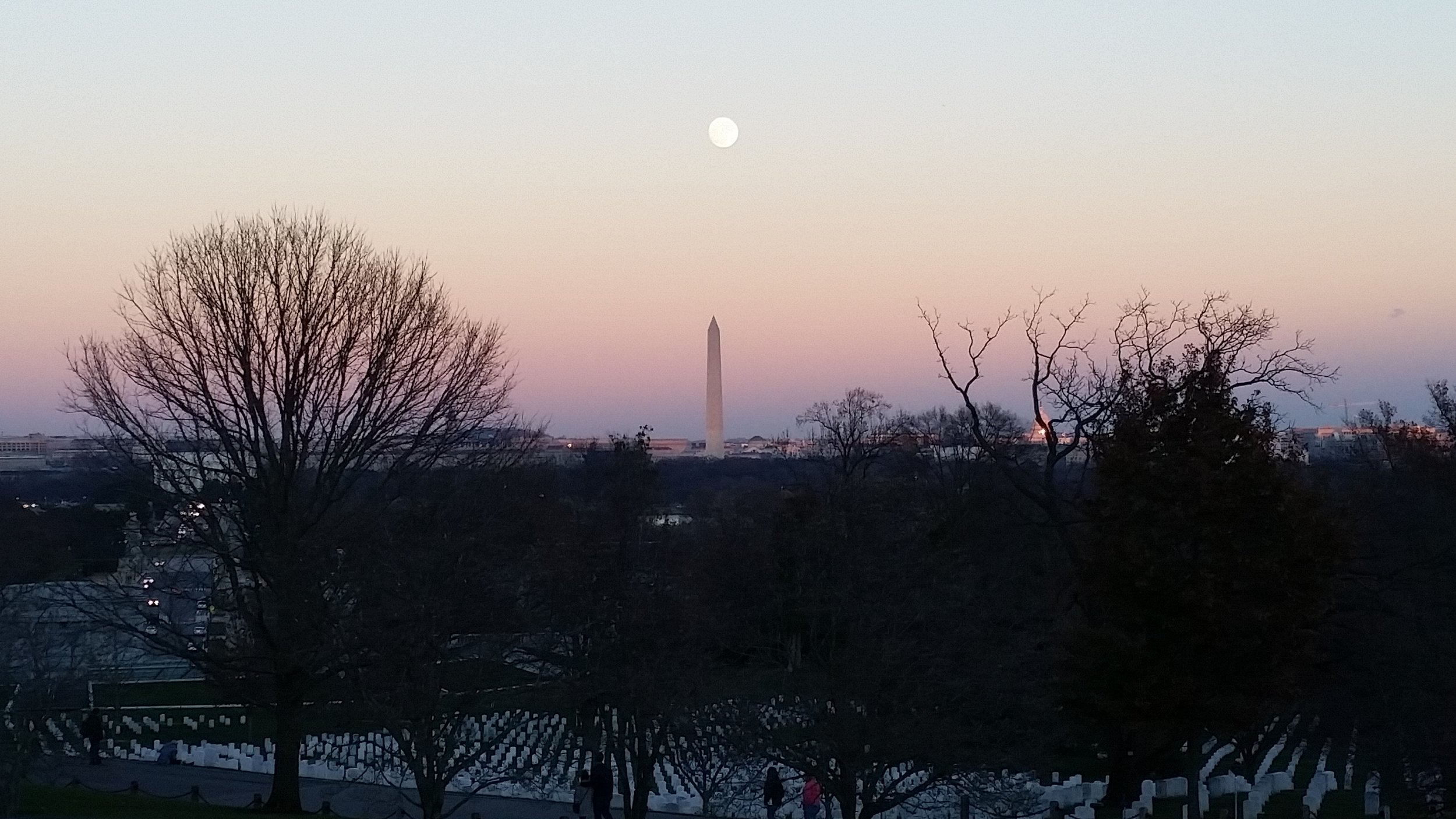 Sunset Over DC