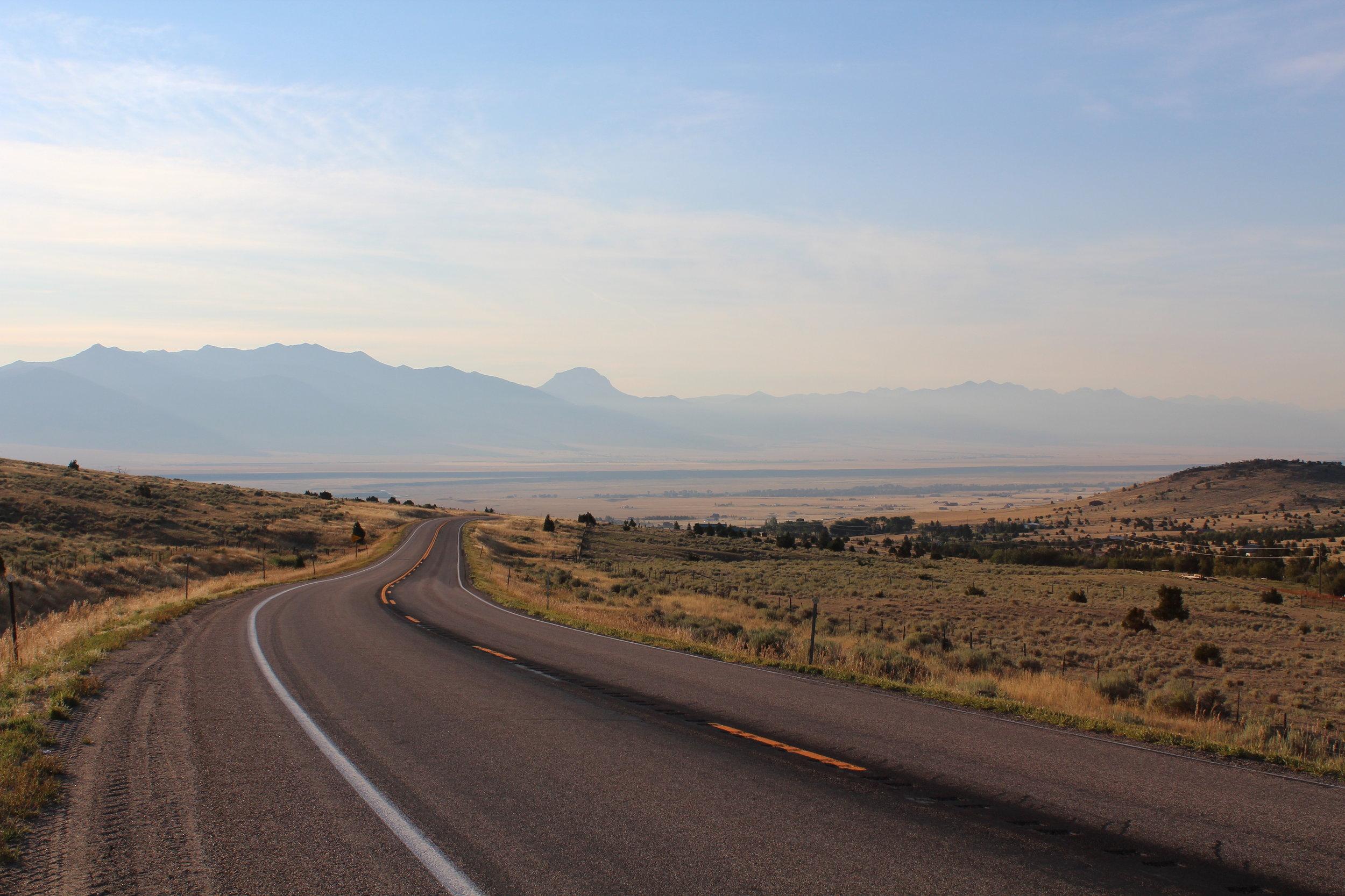 Dawn in Montana