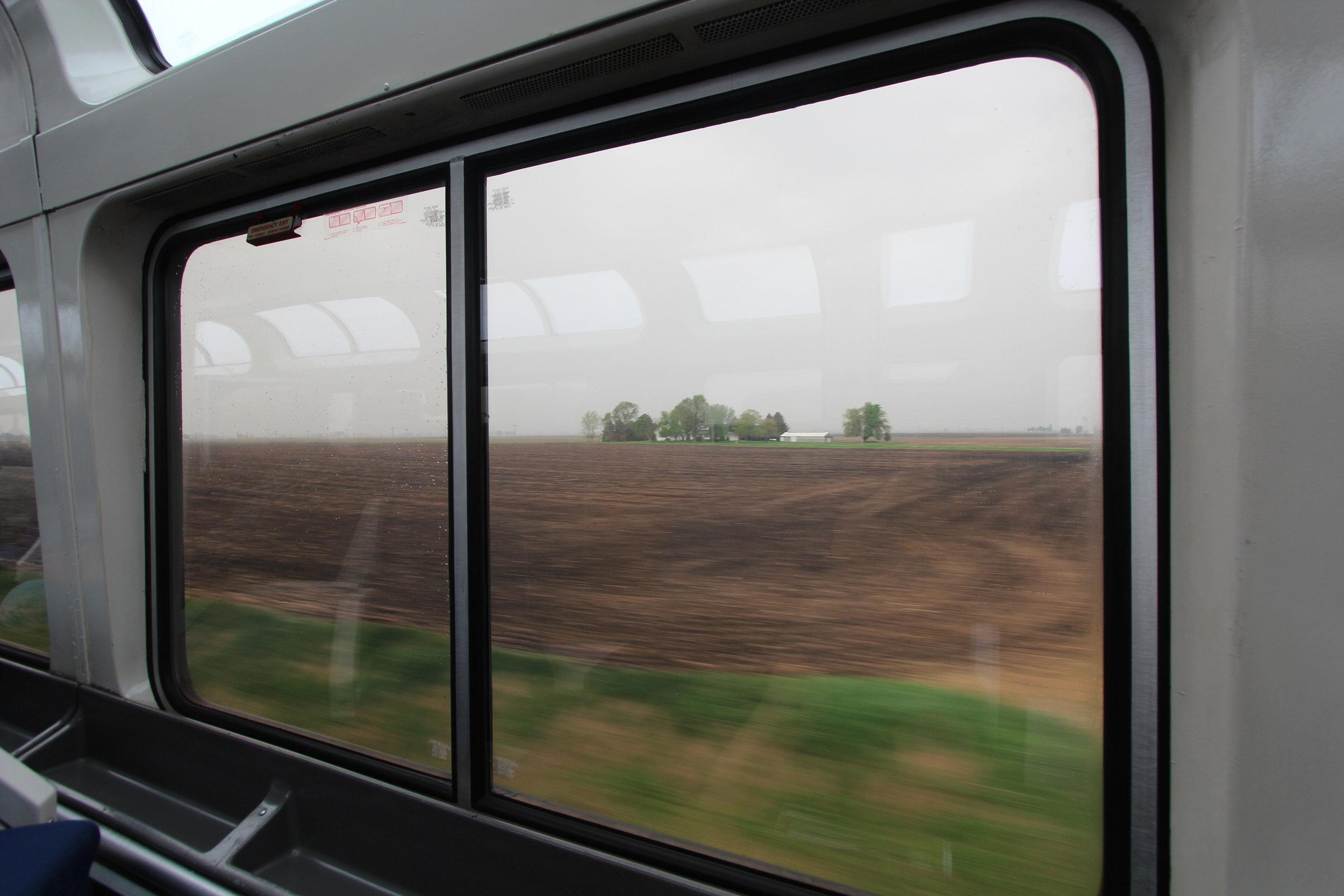 Illinois Plains on Southwest Chief