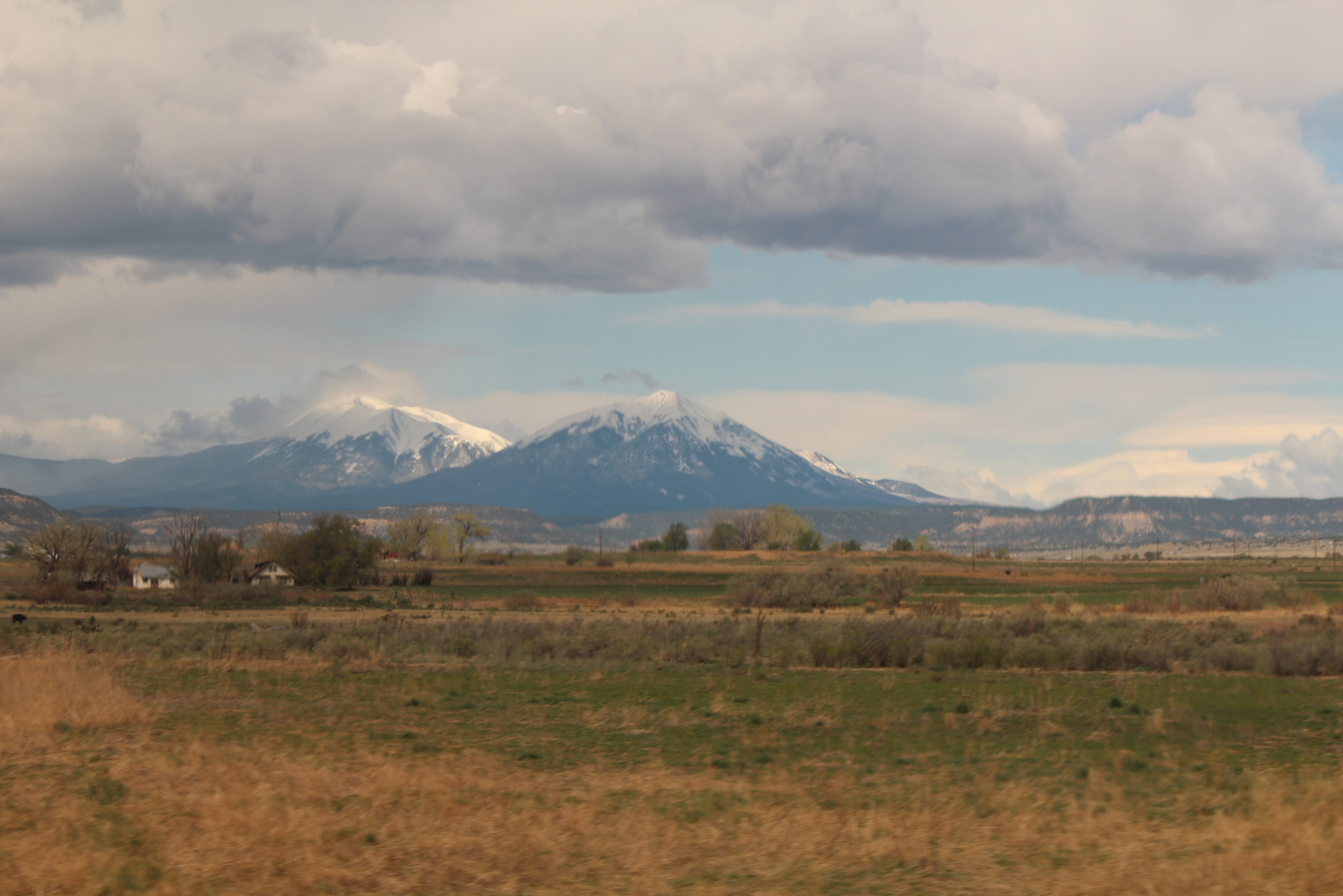 Rocky Mountains on Southwest Chief