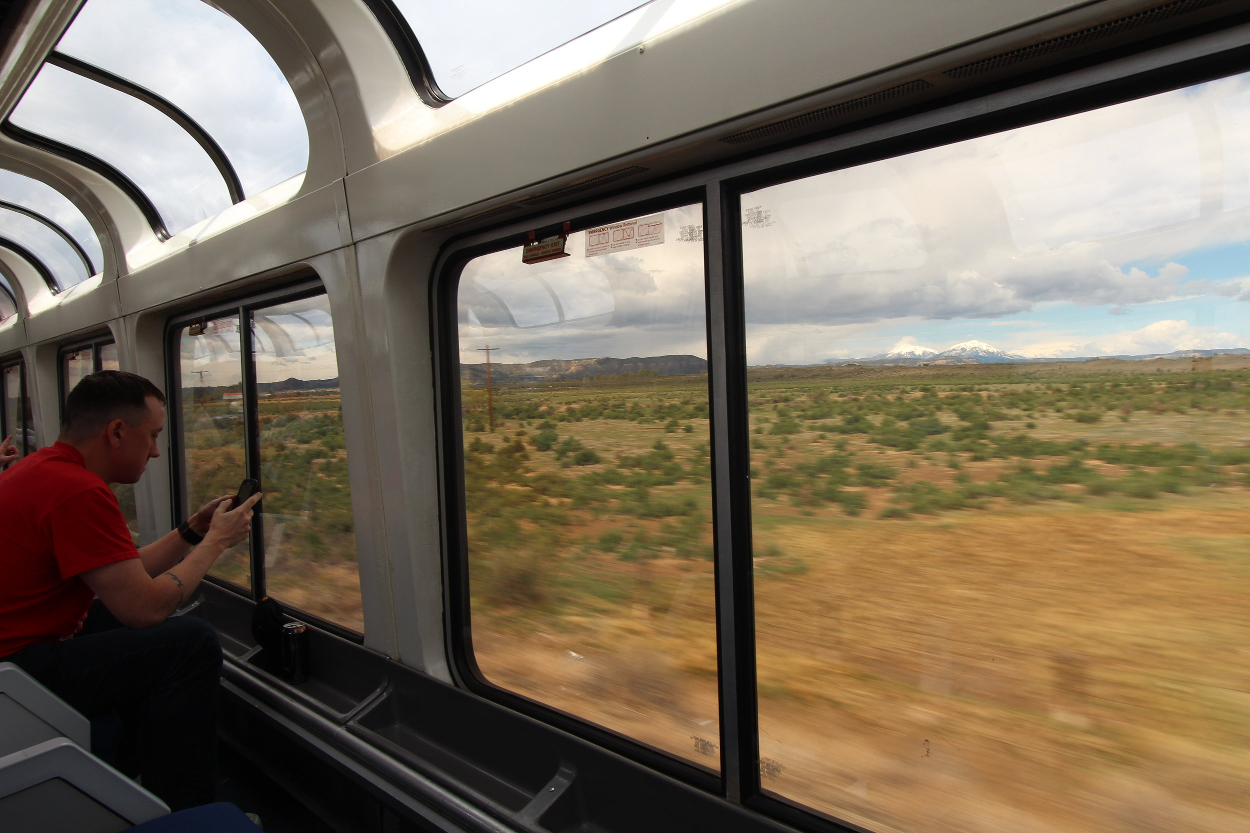 Rocky Mountains along Southwest Chief