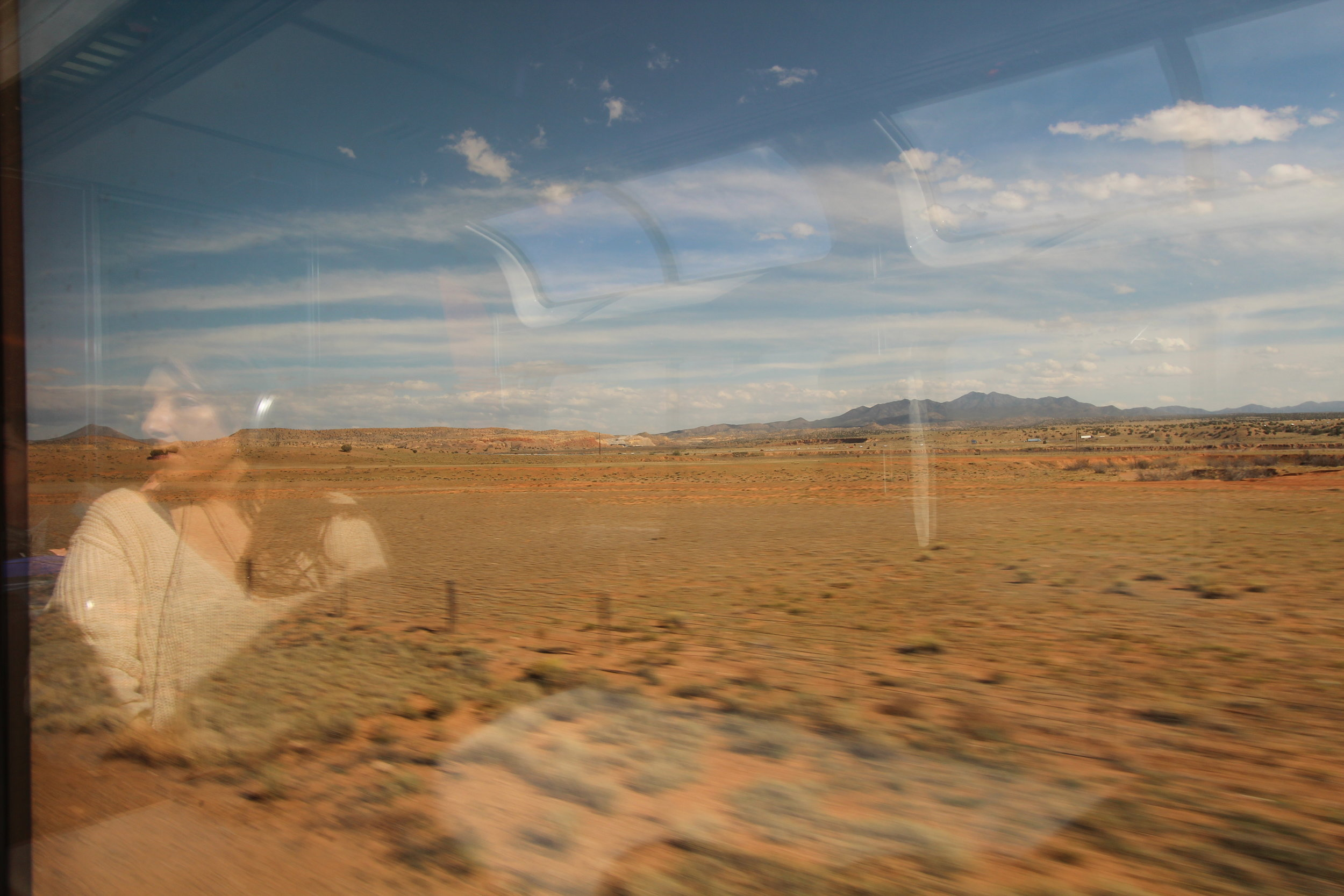 Views from Southwest Chief