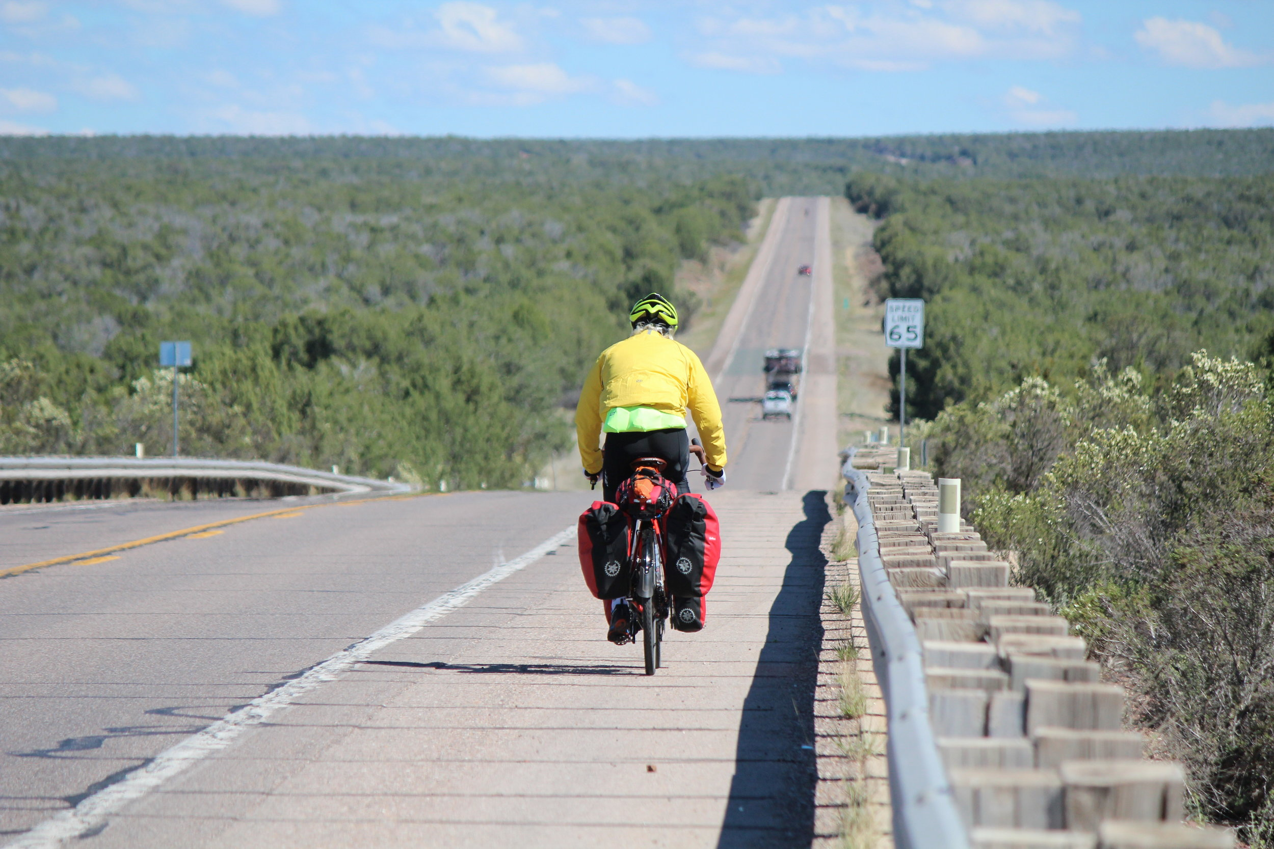 Cycling the Grand Canyon Connector