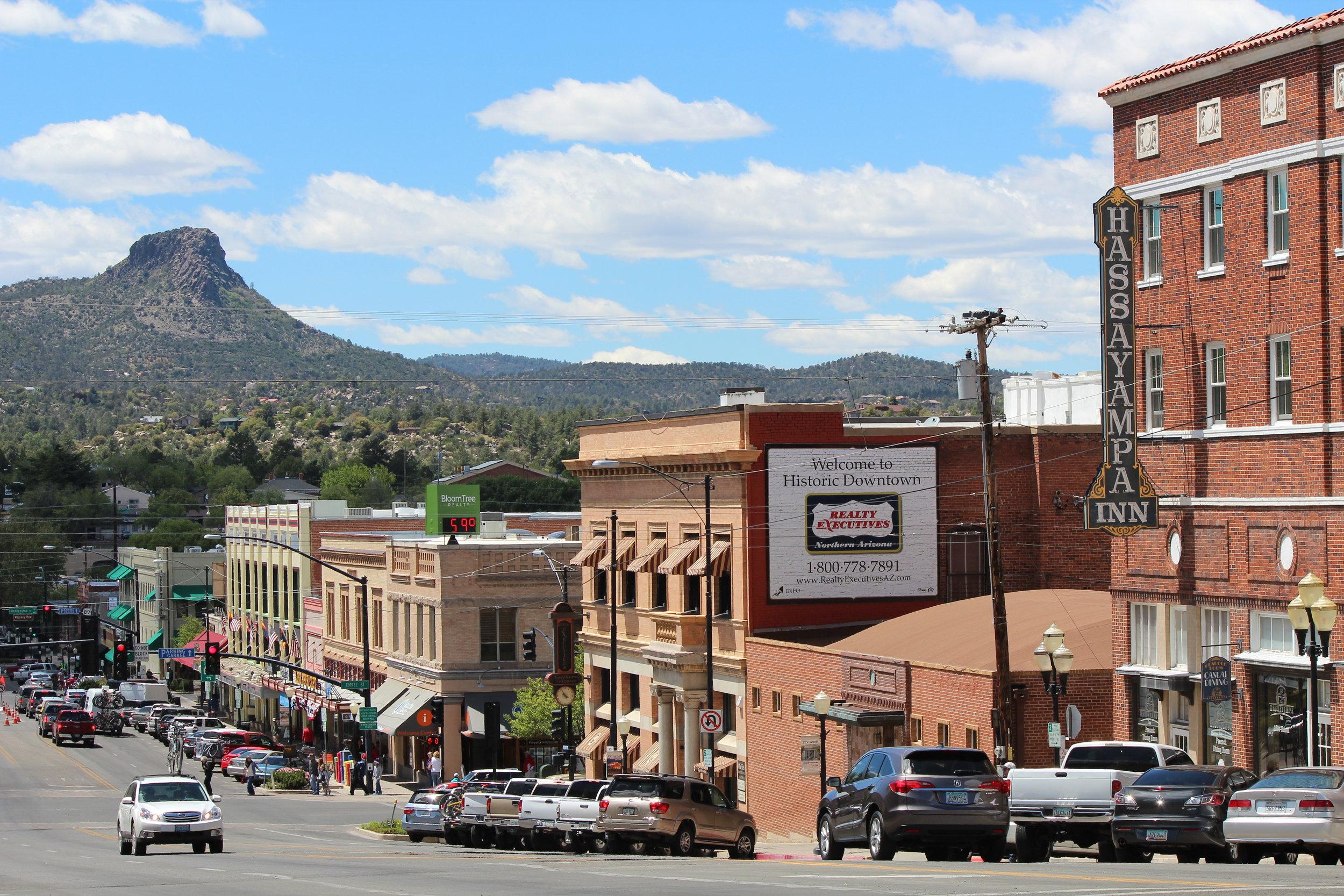 Thumb Butte in Prescott