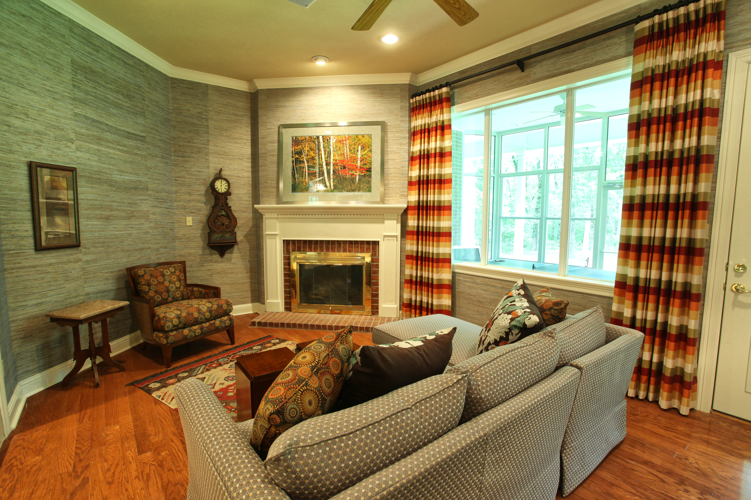 Nacogdoches, Tx interior design - South West inspired living room