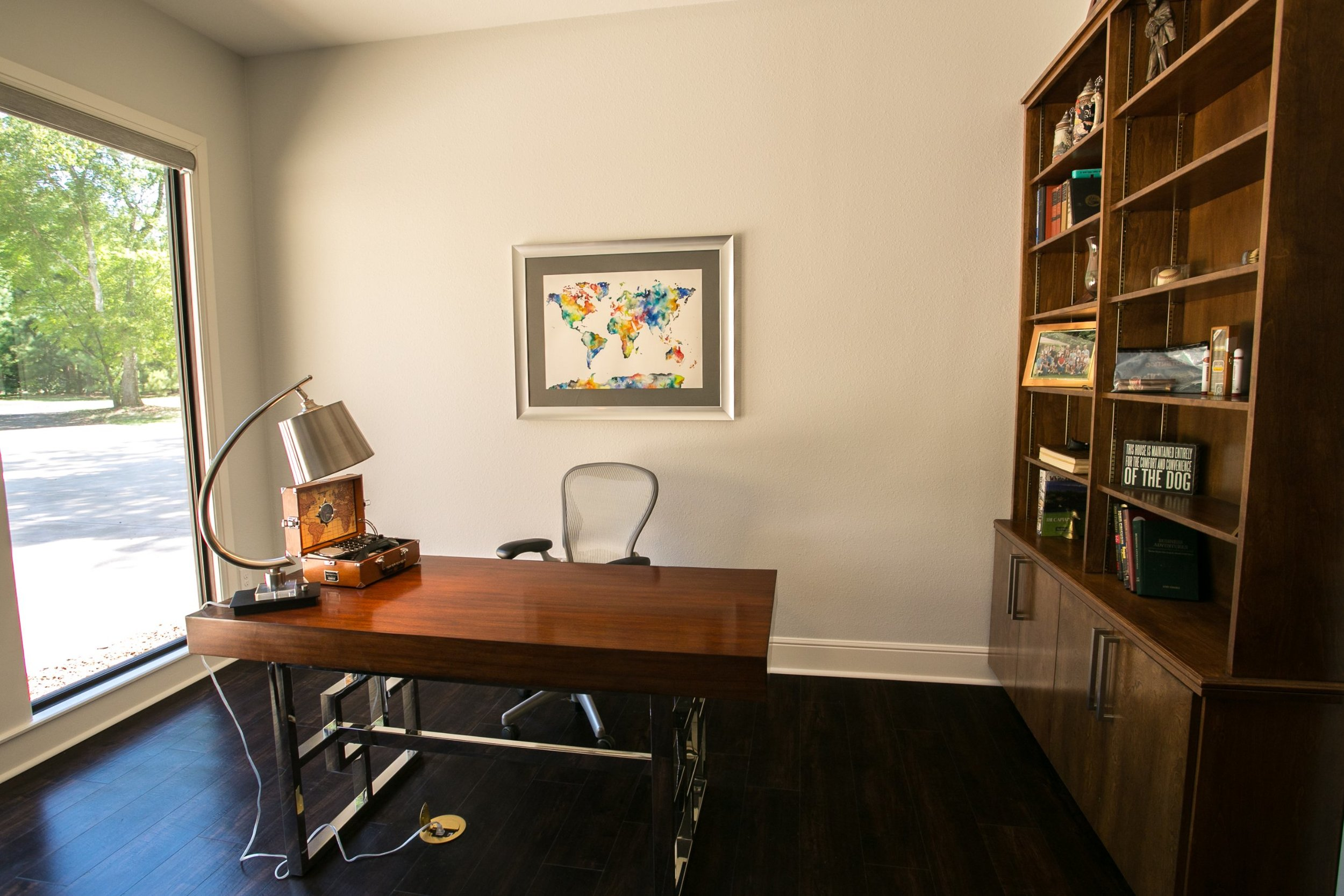 Home Office with storage - Jill Ornelas - Ambiance