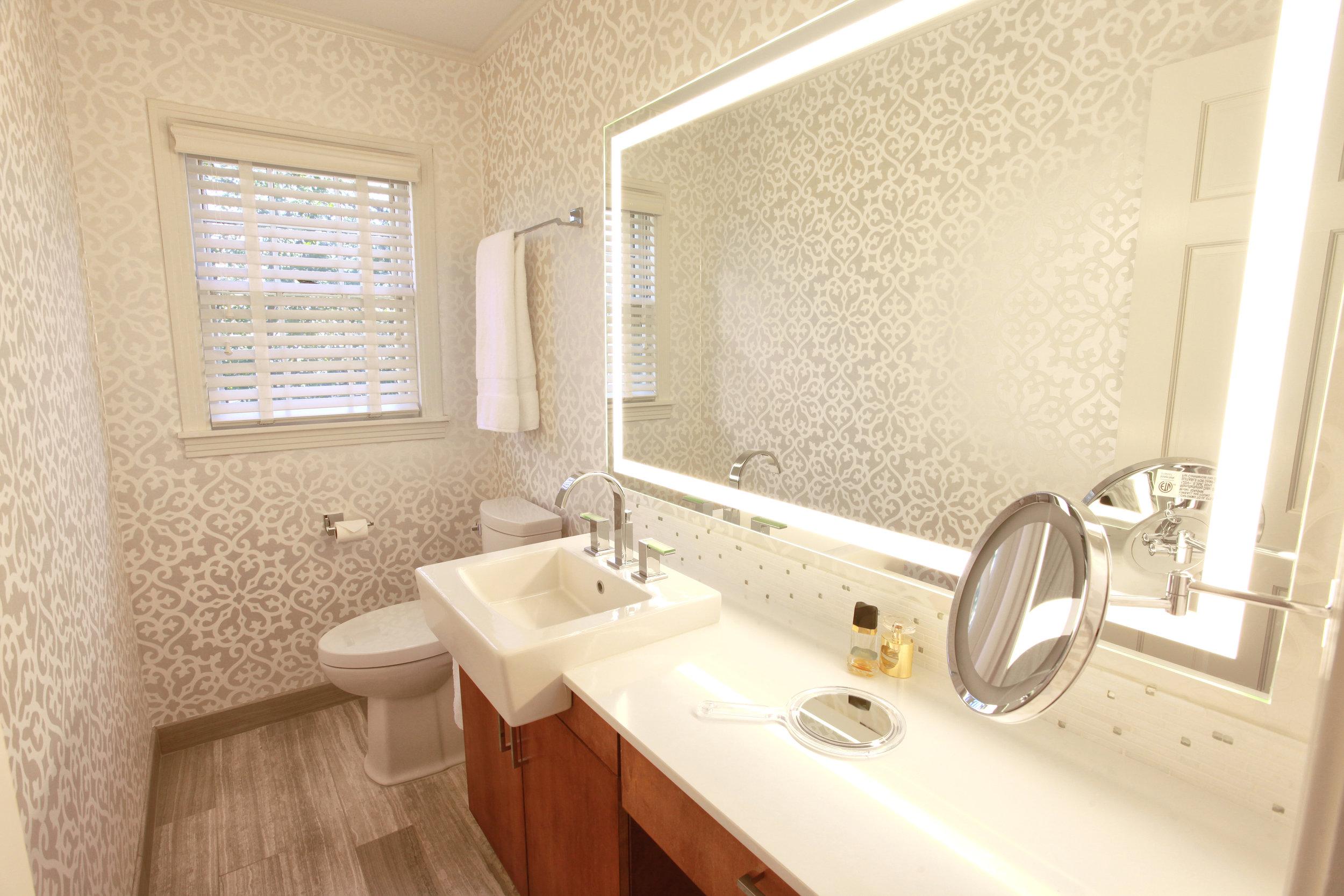 1940's bathroom renovation
