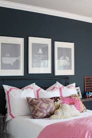 Polo Blue with bright pink accents. A great way to use both colors.