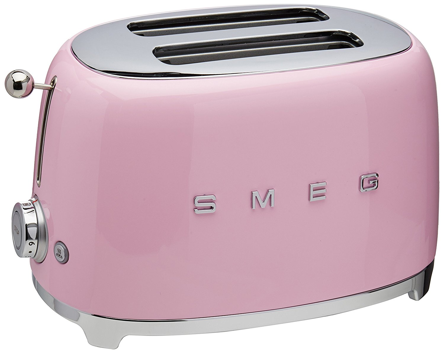 SMEG makes the pink appliances, but why not start out with just this pink toaster!