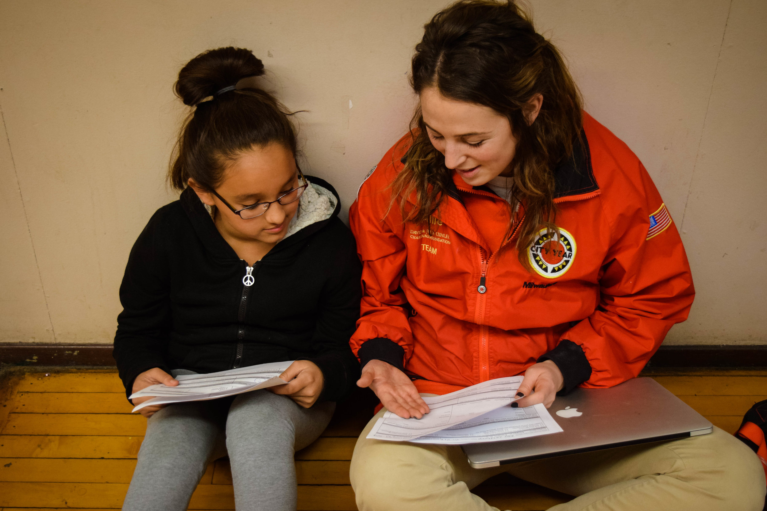 10:30am Attendance & Positive Behavior:  In addition to academic focus list students, corps members have an attendance or positive behavior focus list as well.  Each week, corps members set attendance or leadership goals with students to encourage students to work towards reaching their full potential.