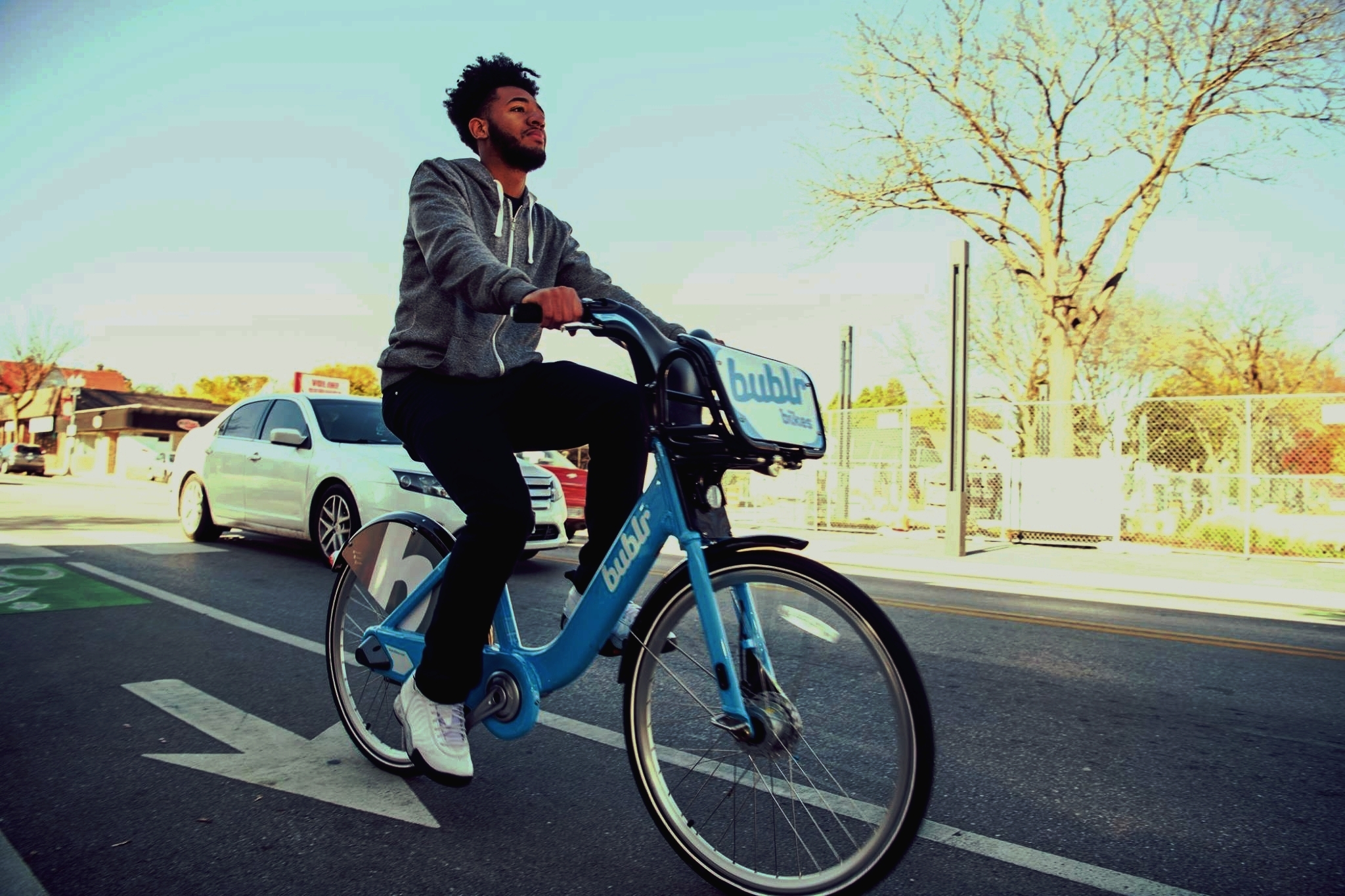 Bublr Bikes - Milwaukee's bike share organization, provides all City Year Milwaukee AmeriCorps members a generous discount. Annual membership fees are reduced from $80 to just $8 and all members can check out a bike for an hour.