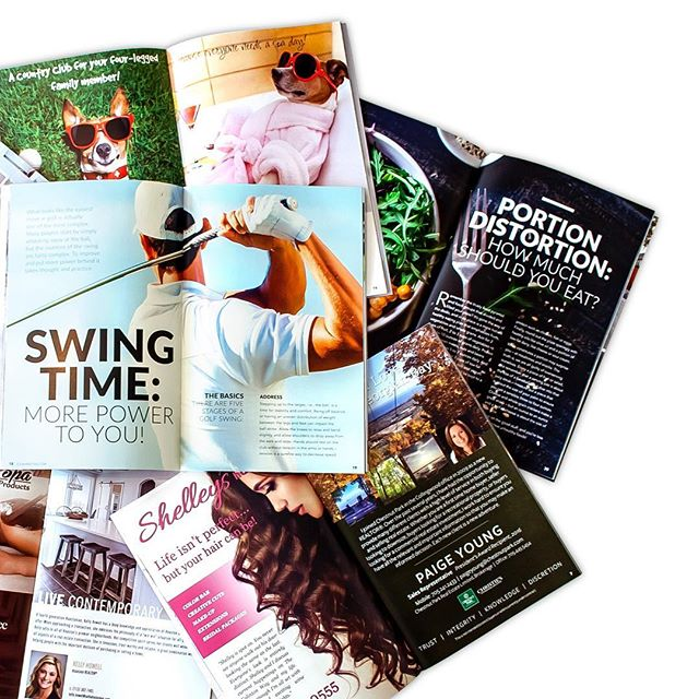 We connect your business to consumers directly and effectively with eye-catching designs that pop! • #homeandgolf #magazine #luxury #advertising #articles #ads #lifestyle #golf #leisure #local #business #e3create