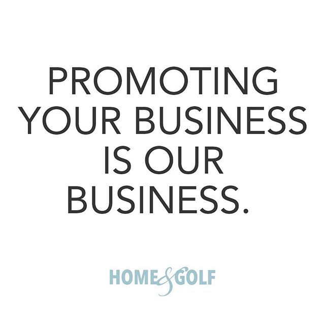 Check out #homeandgolf , our Recommended Business and Service Directory!