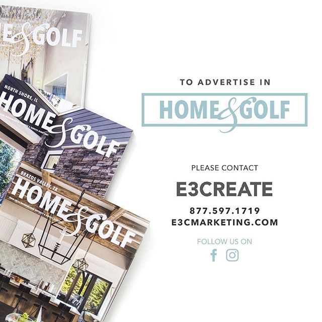 Let us show you the tactics and tools that enhance your business model and increase your success! Don't wait contact our team today. #homeandgolf #e3create