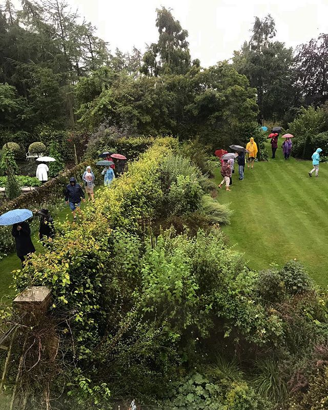 And that's a wrap!! See you all next May! . Thank you to our wonderful Australian tour today who braved the torrential rain. And thank you to everyone else who came this year! . . . . . #jacksonswoldgarden #ngs #garden