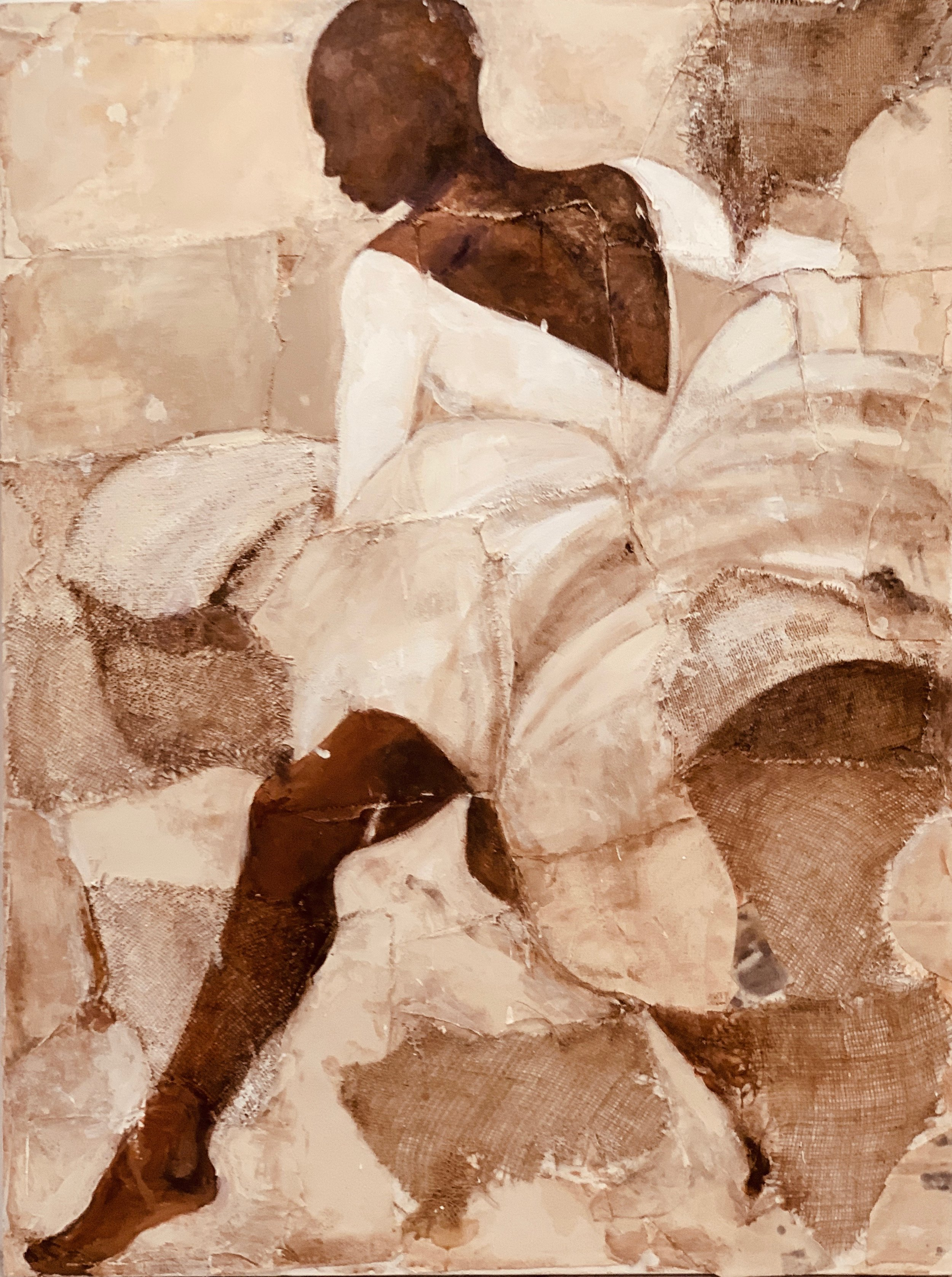 """After Ailey II - 36"""" X 60"""""""
