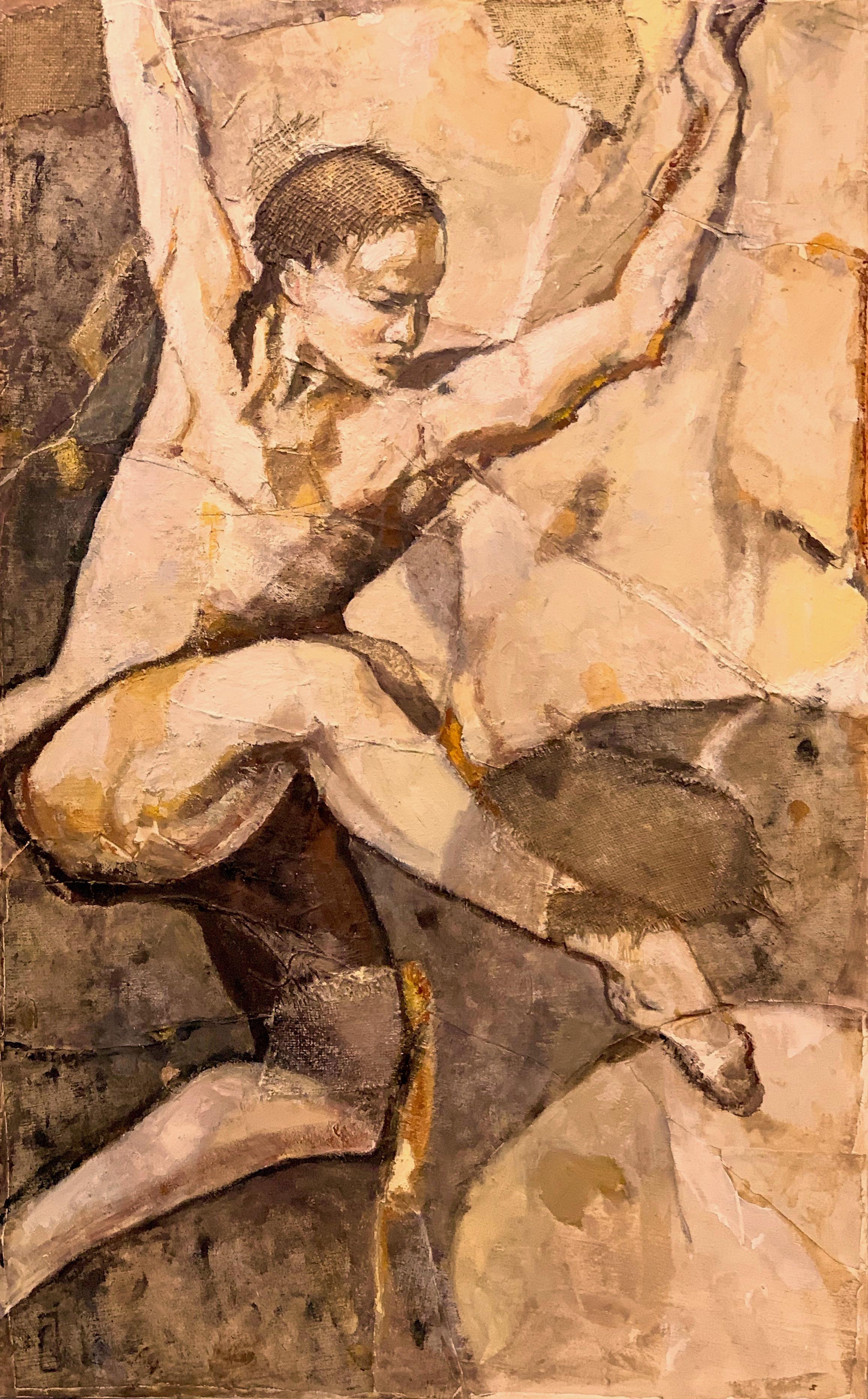 "Dancer XIV  oil on canvas 30"" X 48"""