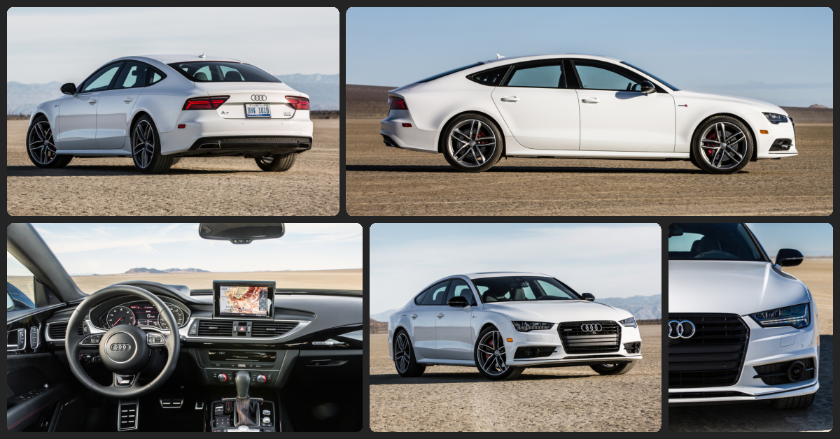 Audi A7 Premium Plus  $3,000 Total Drive Off / $780 Total Monthly (taxes & fees included | 36 month lease)
