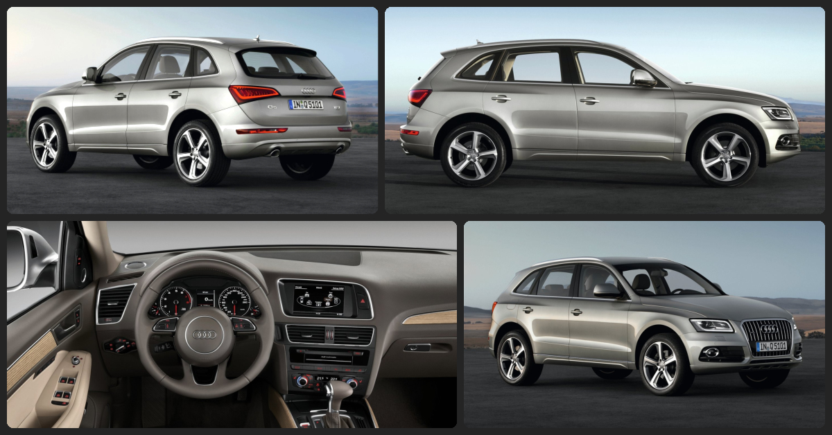 Audi Q5 Premium Plus  $2,000 Total Drive Off / $465 Total Monthly (taxes & fees included | 36 month lease)