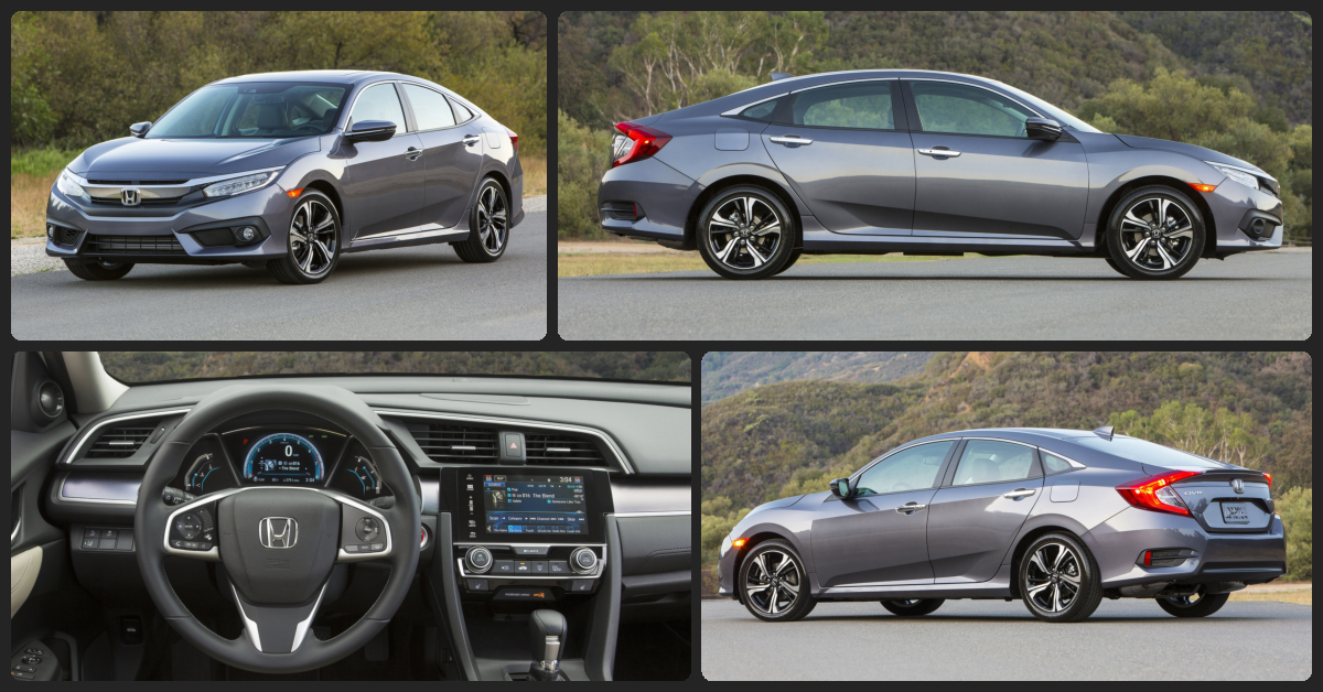 Honda Civic EX  $1,500 Total Drive Off / $180 Total Monthly (taxes & fees included | 36 month lease)