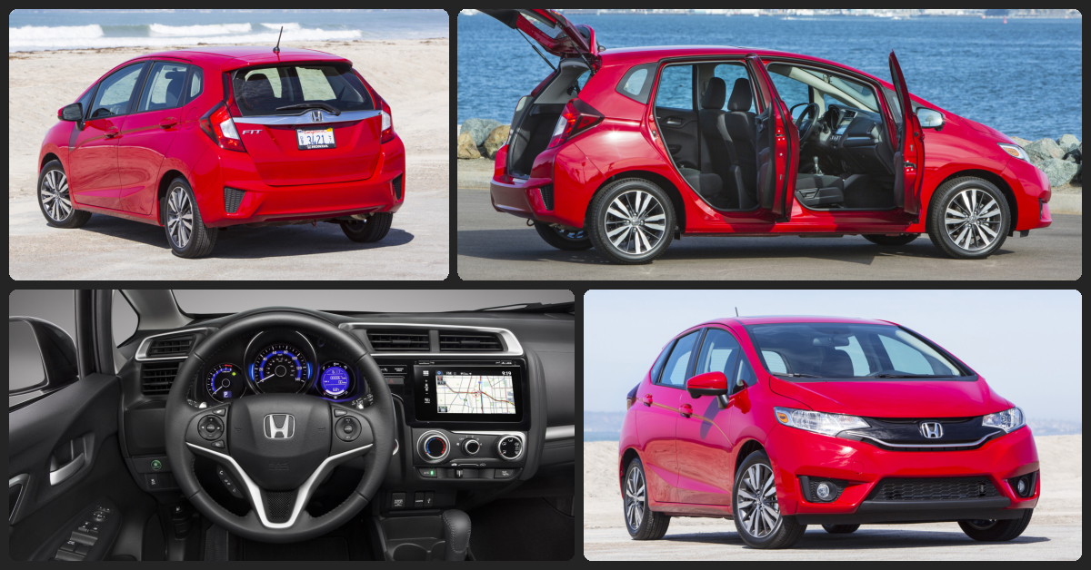 Honda Fit EX  $500 Total Drive Off / $209 Total Monthly (taxes & fees included | 36 month lease)