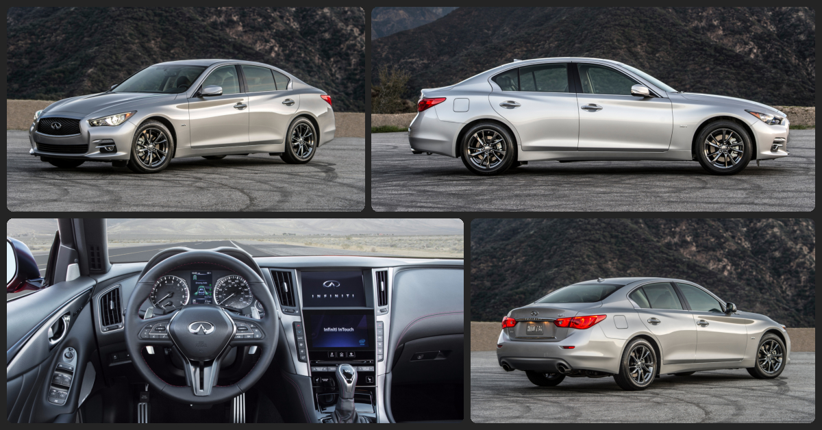 INFINITI Q50 Premium  $0 Total Drive Off / $325 Total Monthly (taxes & fees included | 39 month lease)