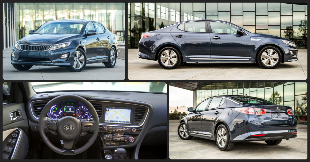 KIA Optima Hybrid EX  $1,000 Total Drive Off / $255 Total Monthly (taxes & fees included | 24 month lease)