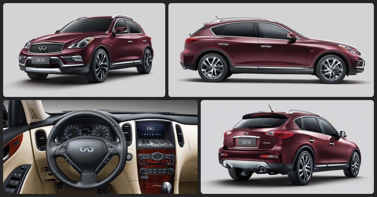 Infiniti QX50 Premium  $0 Total Drive Off / $390 Total Monthly (taxes & fees included | 39 month lease)