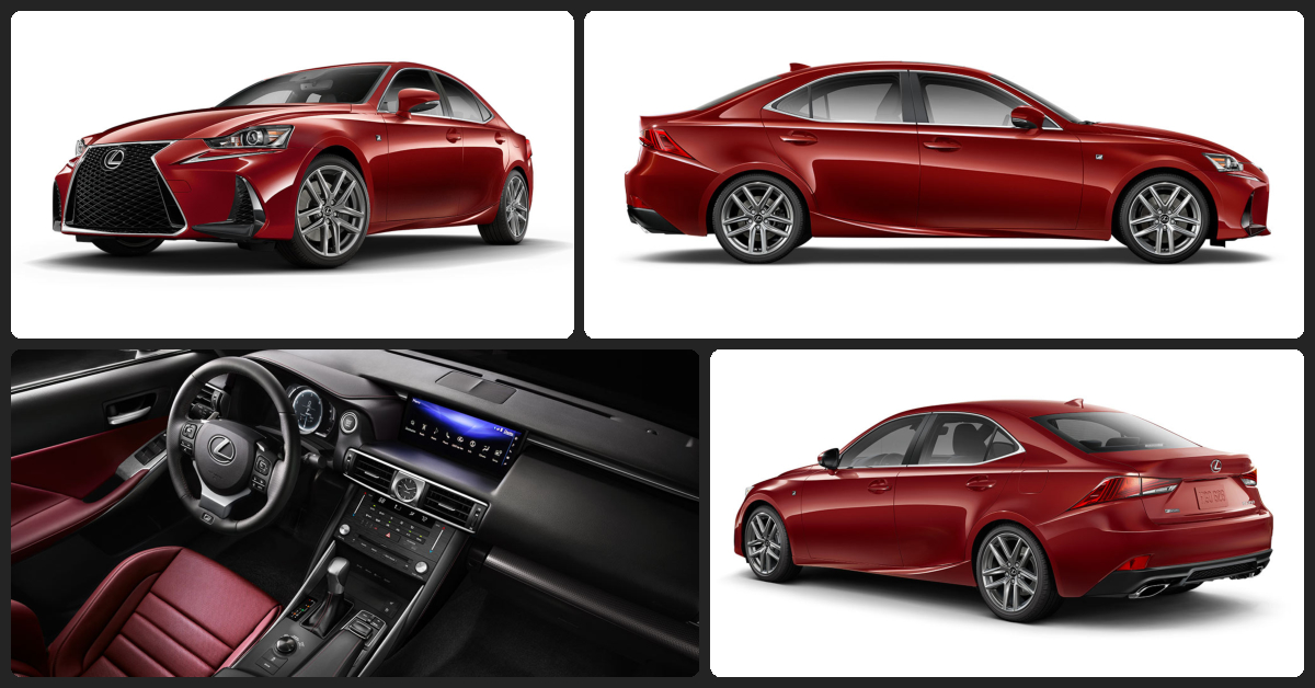 Lexus IS 200t F-Sport  $1,000 Total Drive Off / $430 Total Monthly (taxes & fees included | 36 month lease)