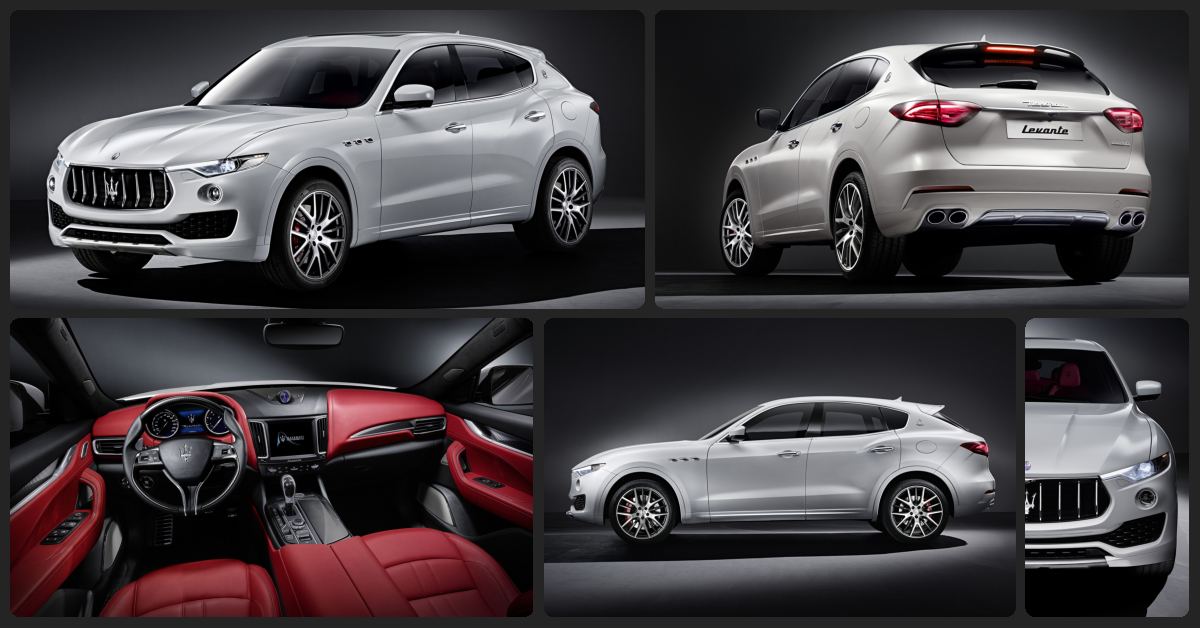 Maserati Levante  $2,500 Total Drive Off / $780 Total Monthly (taxes & fees included | 36 month lease)