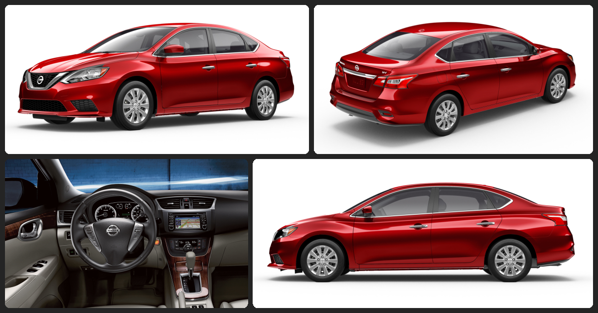 Nissan Sentra S  $1,000 Total Drive Off / $180 Total Monthly (taxes & fees included   36 month lease)