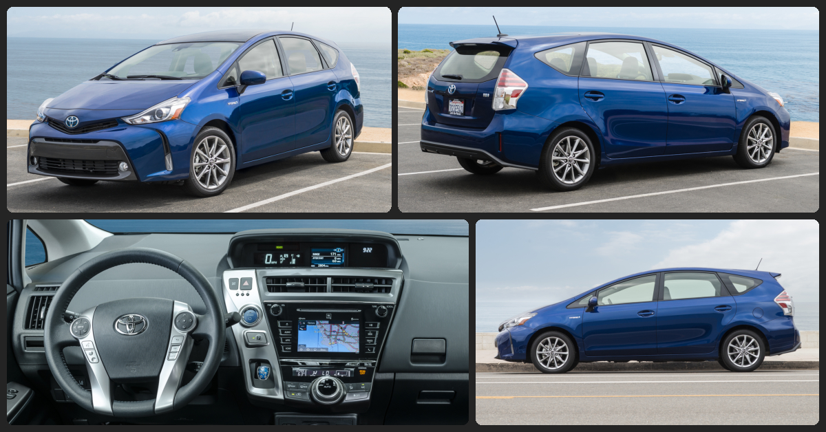 Toyota Prius V Four  $2,000 Total Drive Off / $358 Total Monthly (taxes & fees included | 36 month lease)