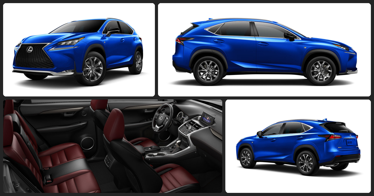 Lexus NX Turbo F SPORT  $1,000 Total Drive Off / $385 Total Monthly (taxes & fees included | 36 month lease)