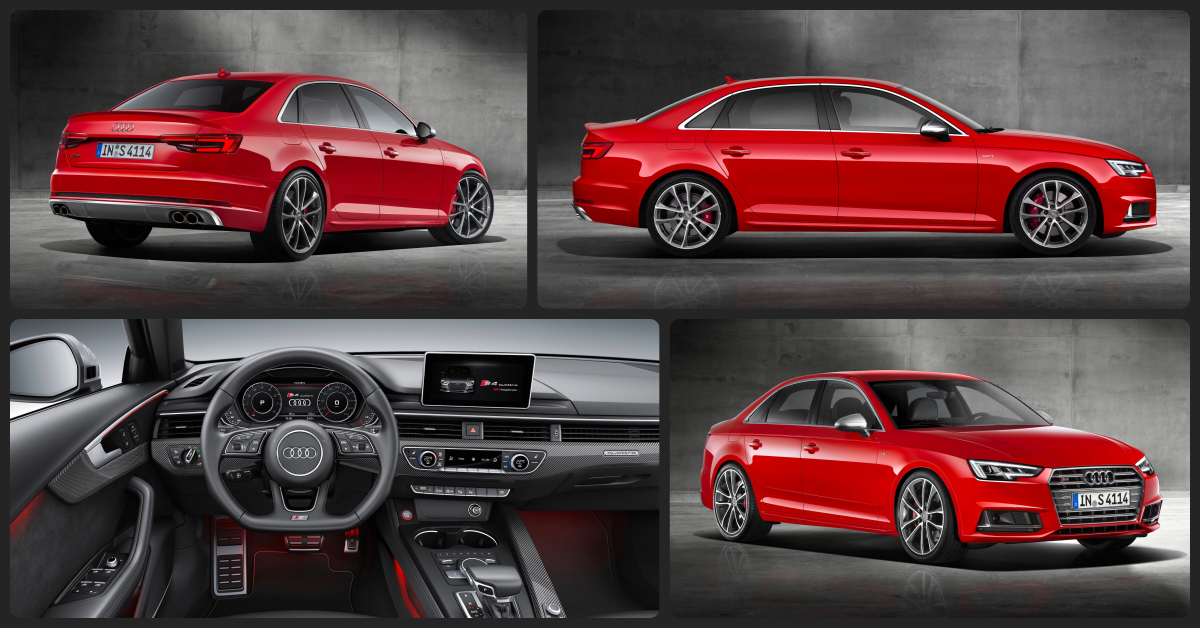 Audi S4 Premium Plus  $2,000 Total Drive Off / $585 Total Monthly (taxes & fees included | 36 month lease)