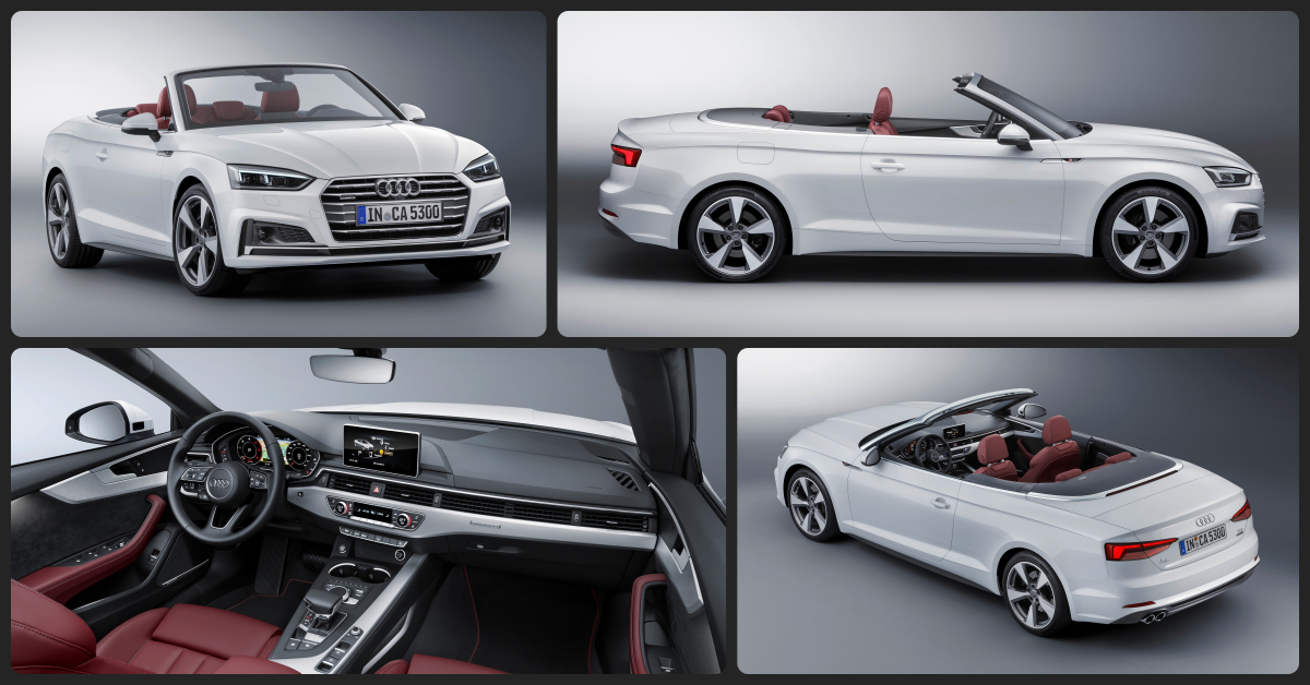 Audi A5 Cabriolet  $1,500 Total Drive Off / $615 Total Monthly (taxes & fees included | 36 month lease)