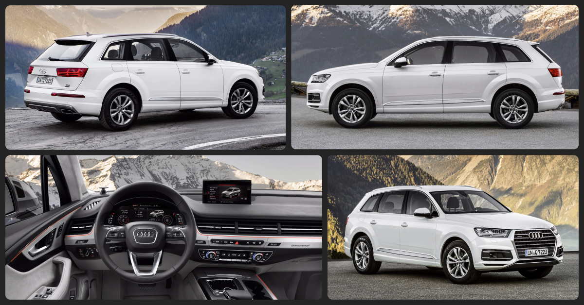 Audi Q7 Premium  $2,000 Total Drive Off / $610 Total Monthly (taxes & fees included | 36 month lease)