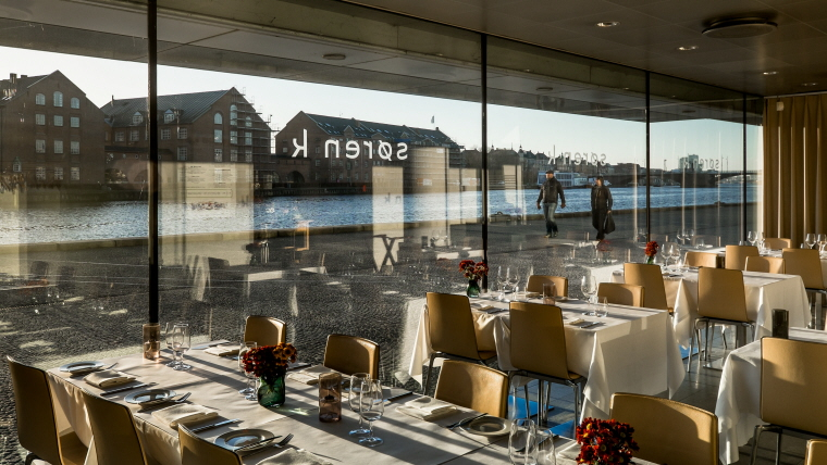 Gala Dinner at Søren K Restaurant at the Black Diamond Library -