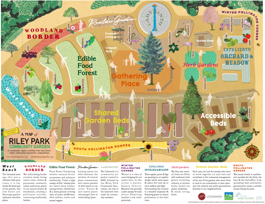 The community told us they want a garden based on commons design principles guided by the eight design principles for sustainable management of Common Pool Resources, developed by Nobel laureate Elinor Ostrom. -