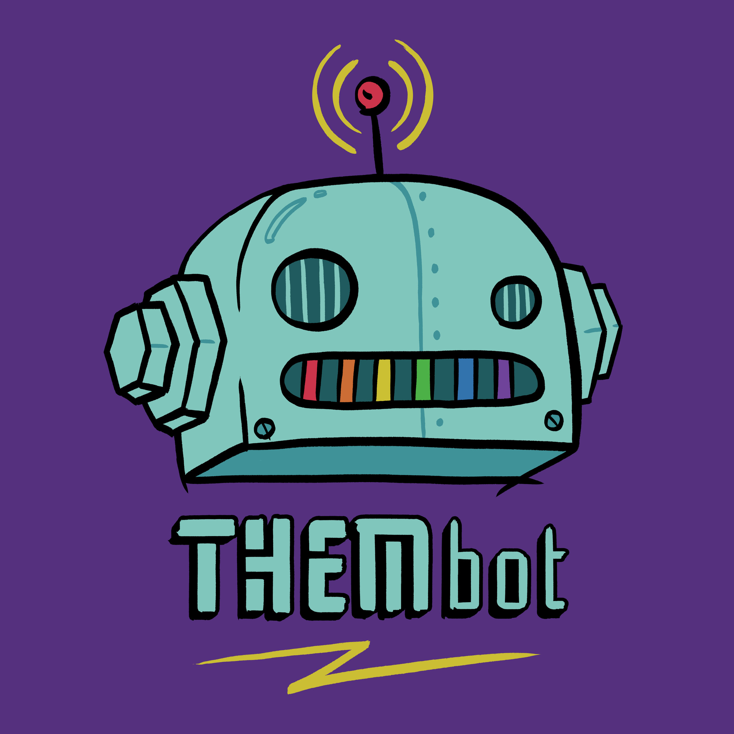 THembot - BRANDING | FREELANCEHot Rabbit/Bad Habit created a spin-off LGBTQ queer party.