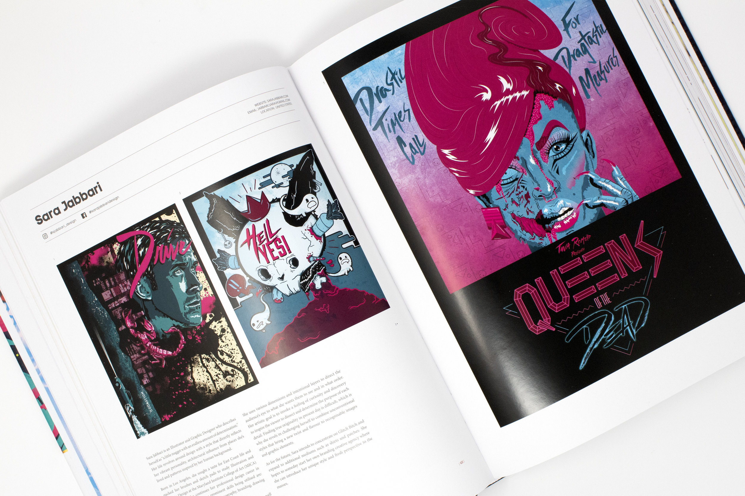 PUBLICATIONS - DRAWN VOL. 2 | CAPSULES BOOKDrawn Volume.2 is a curated creative directory by Capsules Book showcasing portfolio highlights of some of the best established and emerging illustrators worldwide.