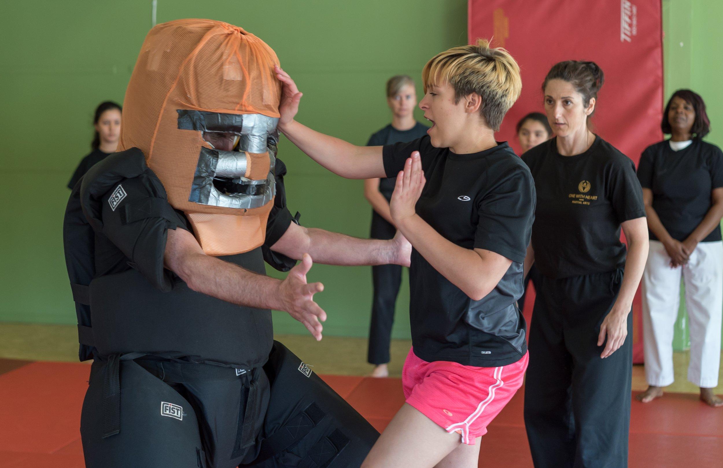 Self Defense Padded Attacker